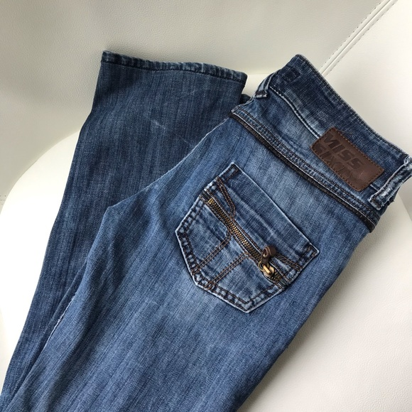 Miss Sixty 👖 Straight Leg Denim Jeans (Size 25)